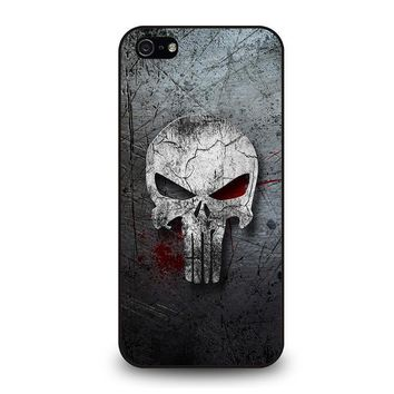 punisher marvel iphone 5 5s se case cover  number 1