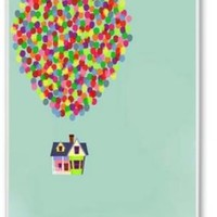 Up House - Disney Pixar Iphone 5 Case Cover New Design,best Iphone Case Fell Happy Store