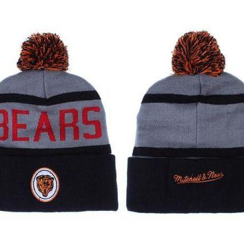 ESB8KY Chicago Bears Beanies New Era NFL Football Hat M&N
