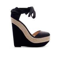 ESPADRILLE WEDGE SANDALS - Last sizes - TRF | ZARA United Kingdom