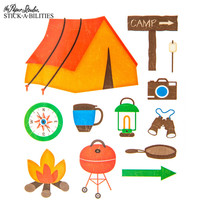 Camping Stickers | Hobby Lobby | 396002