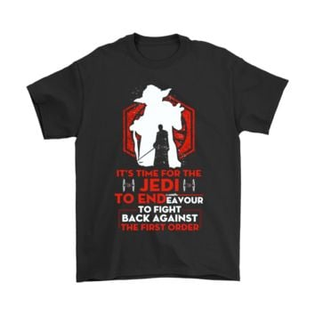 SPBEST It's Time For The Jedi To End Star Wars Shirts