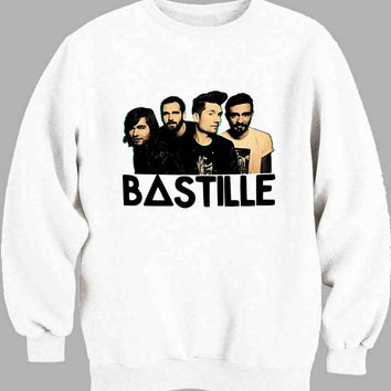bastille cover band funny Sweater for Mens Sweater and Womens Sweater *