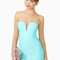 Helix Dress - Mint