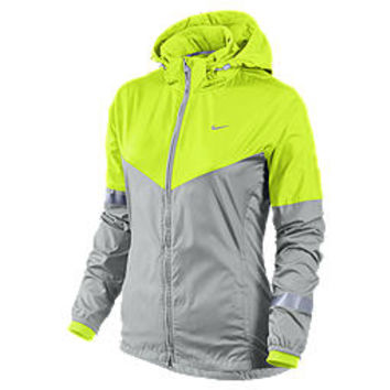 The Nike Shield Flash Women's Running Jacket.