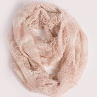Marianne Pink Plaid Circle Scarf