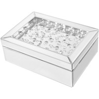 "Sparkle 10"" Contemporary Crystal Jewelry Box"