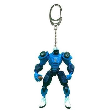 Tennessee Titans Keychain Fox Robot 3 Inch Mini Cleats
