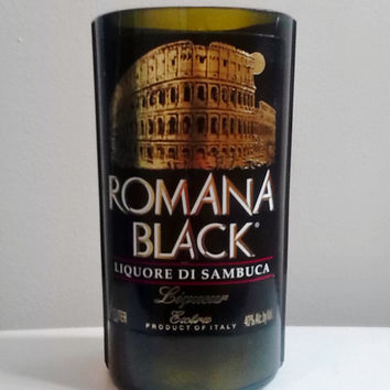 Romana Black Liquore Di Sambuca Bottle Natural Soy Candle