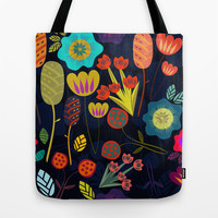Magic garden Tote Bag by Anny Cecilia Walter