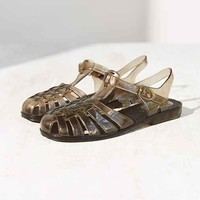 BC Footwear X UO Jelly Fisherman Sandal- Grey 9