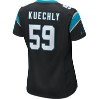 "Luke Kuechly Jersey - #59 - Nike ""Game"" - Women's - Black"