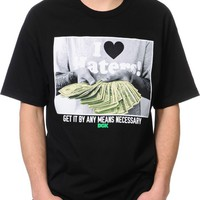 DGK By Any Means Black T-Shirt