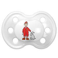 Fireman Firefighter Baby Newborn Infant Pacifier