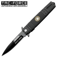 Special Forces Grey Spring Assisted Knife