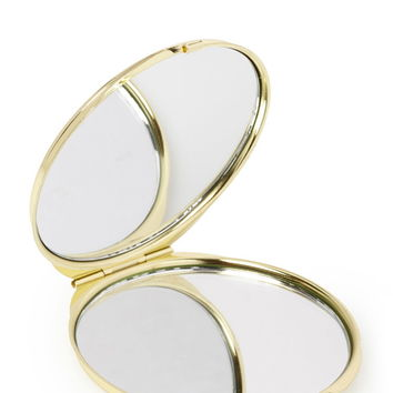 Striped Compact Mirror   Forever 21 - 1049257941