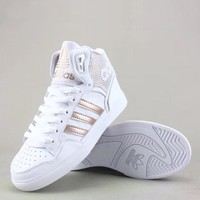 Adidas Extaball W Fashion Casual High-Top Old Skool Shoes-4