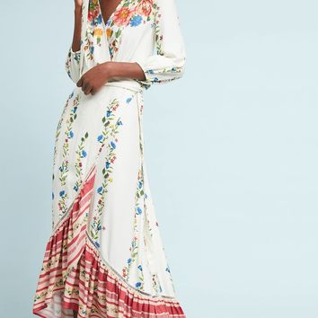 Farm Rio Springtime Wrap Dress