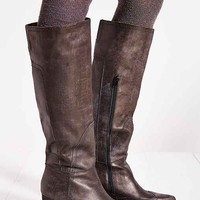 Jeffrey Campbell Torrent Distressed Tall Boot- Black