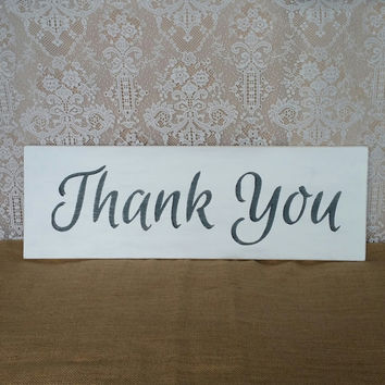 Thank You Sign, Wedding Sign, Thank You Wedding Sign, Wedding Photography Prop, Wedding Photo Sign, Thanks Sign, Thank You Sign, Black White