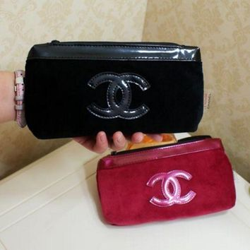 One-nice™ Chanel Fashion Women Waterproof Oxford Cloth Bag Large Cosmetic Bag
