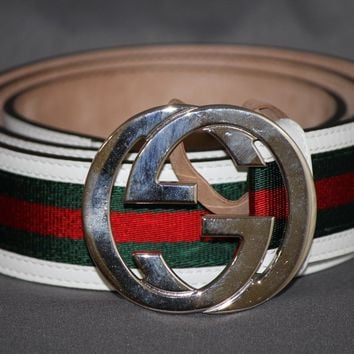 100% Authentic Multi Color Gucci Belt
