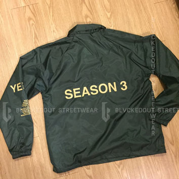 Yeezy Season 3 Invite Jacket