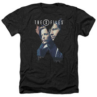 X FILES/X AGENTS-ADULT HEATHER-BLACK
