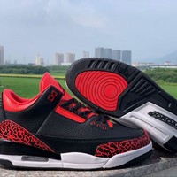Air Jordan 3 Retro Black Red White