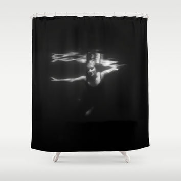 Underwater Dreaming Shower Curtain by Nicklas Gustafsson