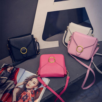 Summer Messenger Bags Simple Design Korean Star Shoulder Bag [8226767879]