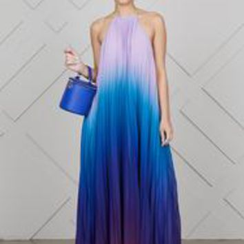 Ombre Maxi Dress (Blue/Purple)