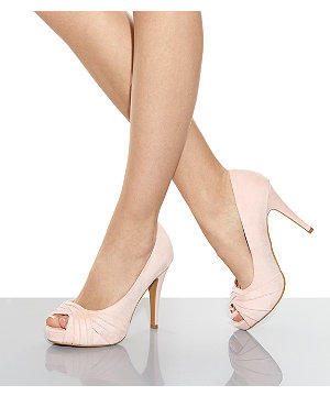 Wide Fit Light Pink Twisted Front Peep from New Look 17f60a16ad