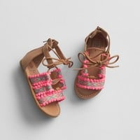 Geometric Pom Sandals | Gap
