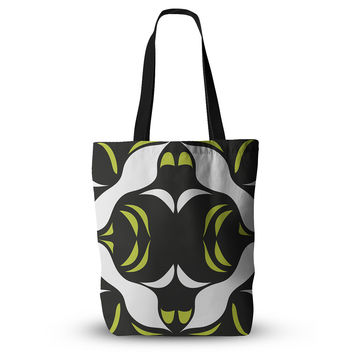 "Miranda Mol ""Green White Jaws"" Everything Tote Bag"