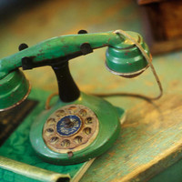Vintage Phone I Giclee Print Poster by Philip Clayton-Thompson
