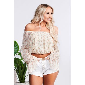 Floral Dreams Top (Cream Multi)