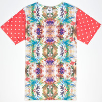 Hype Polka Paradise Mens T-Shirt Multi  In Sizes