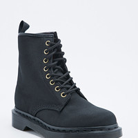 Dr. Martens Castel Aviator Boots in Black - Urban Outfitters