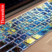 Van Gogh's Starry NightMacbookdecal Macbook Keyboard by Tloveskin