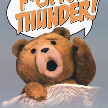 Ted Thunder Buddy Mantra Poster 24x36