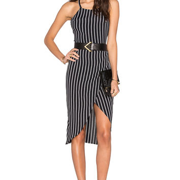 Privacy Please Nassau Wrap Dress in Maverick