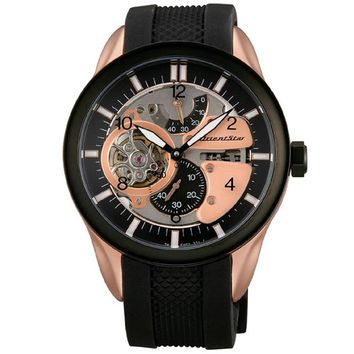 Orient WZ0251FH Men's Motorcycle Raven Skeleton Automatic Power Reserve Watch