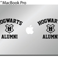 Harry Potter Decal - Hogwarts Alumni Car/Window/Bumper/Wall/ vinyl sticker 2SET