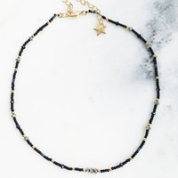 Midnight Pia Choker