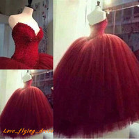 New Quinceanera Dress Formal Gowns Prom Party Ball Gown Pageant Wedding Dresses