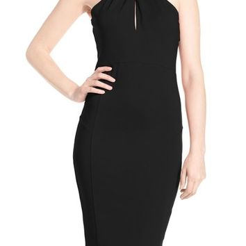 Felicity & Coco Halter Neck Midi Dress | Nordstrom