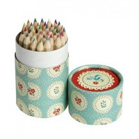 Set Of 36 Colouring Pencils - Dolly Bow Bow