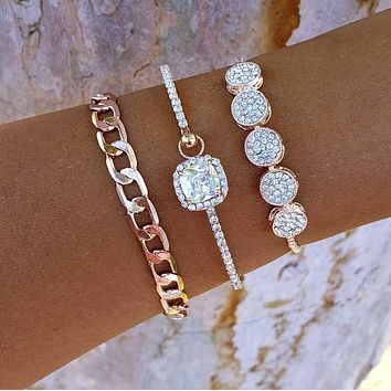 Sparkles & Chain Stack