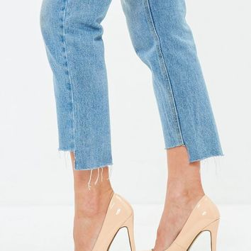 Missguided - Nude Pointed Toe Pumps